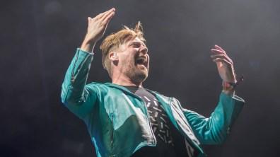 Kaiser Chiefs' frontman Ricky Wilson. Photo: Sean Strange for Lincolnshire Reporter