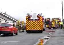Elderly man in hospital after Mablethorpe bungalow fire