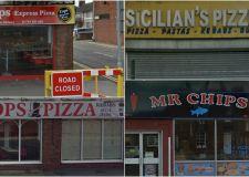 Two takeaways given zero food hygiene score on same Scunthorpe street