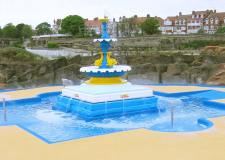 Free paddling pools open on Lincolnshire coast