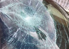 Thieves smash unlucky driver's car window for 50p
