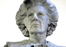 Plans for 21-foot high Margaret Thatcher statue on show in Grantham