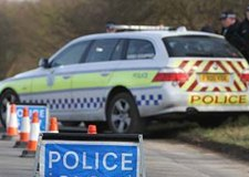 Motorbike rider dies after A15 Bourne crash