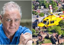 Lincolnshire actor felt like he was going to die before air ambulance rescue