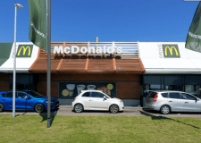 Only one Lincolnshire McDonald's re-opened today