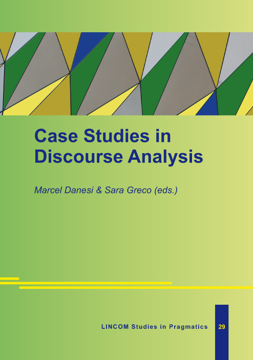 LSPr 29: Case Studies in Discourse Analysis
