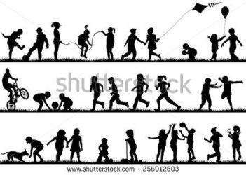stock-vector-children-silhouettes-playing-outdoor-256912603