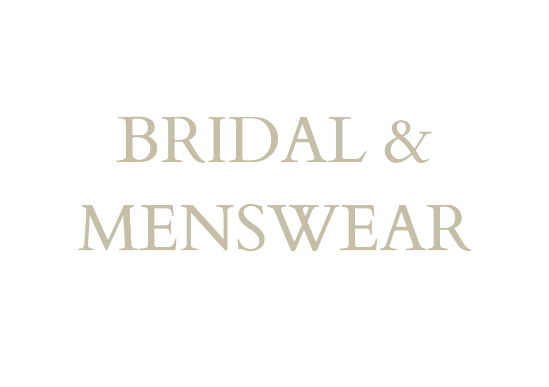 Bridal & Menswear Home