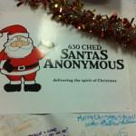 Santa's Anonymous Depot at 12345 121 Street.