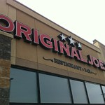 Original Joe's at 4300 South Park Drive, Stonyplain.
