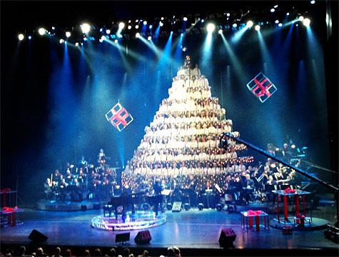 At the 43rd annual Edmonton Singing Christmas Tree! - Recap: The 43rd Edmonton Singing Christmas Tree! - LINDA HOANG
