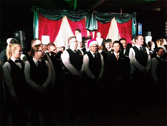 Standing ovation for the amazing Fairmont Jasper Park Lodge staff!