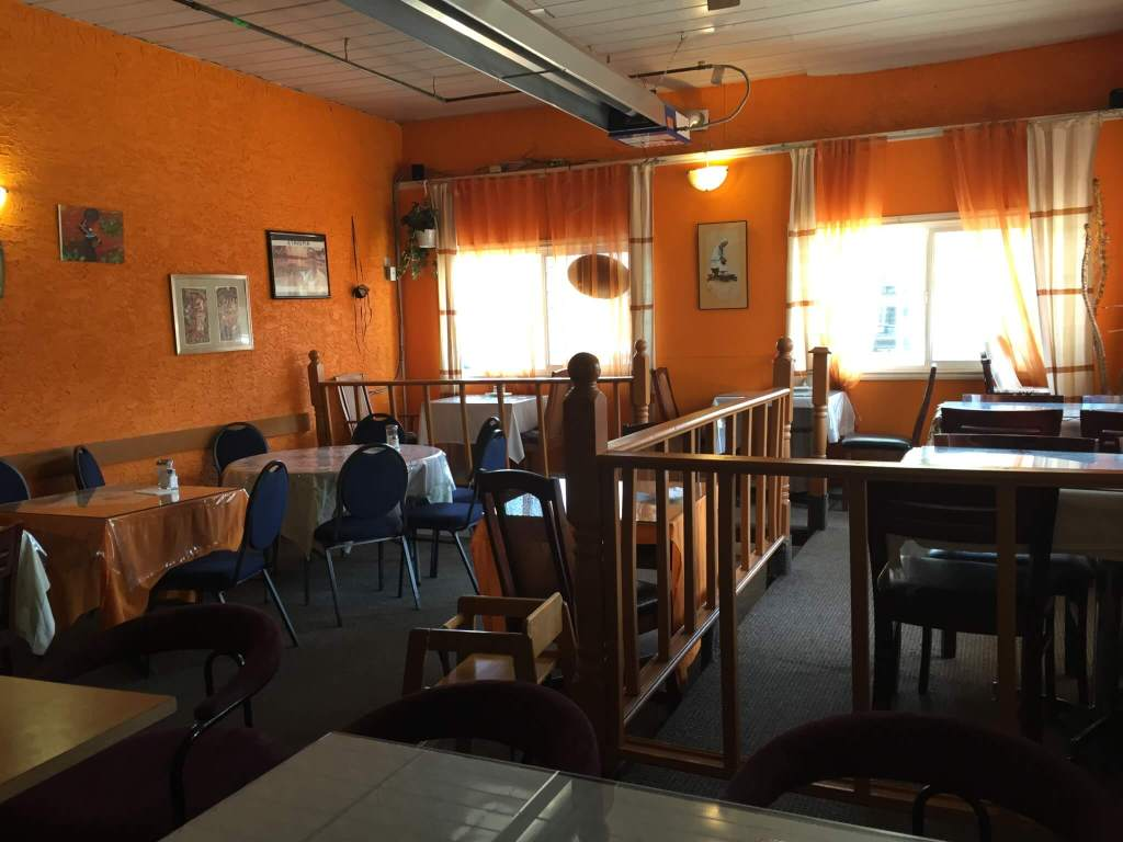 Inside Abyssinia Ethiopian Restaurant