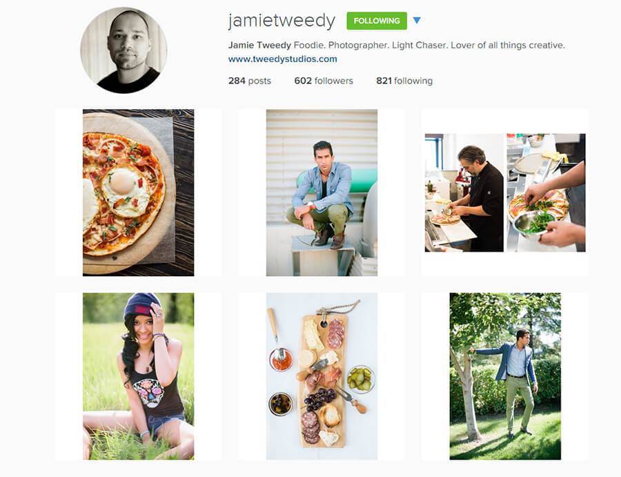 Edmonton Instagram Users - jamietweedy