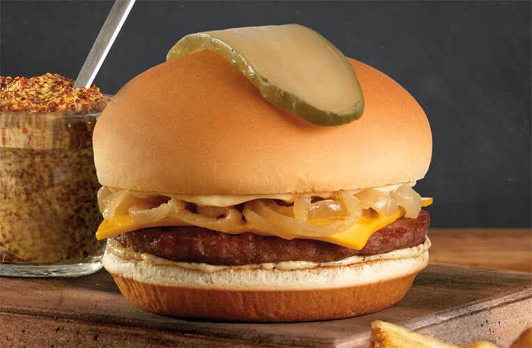 White Spot 50 50 Burger - Classic Diner - Edmonton Restaurants
