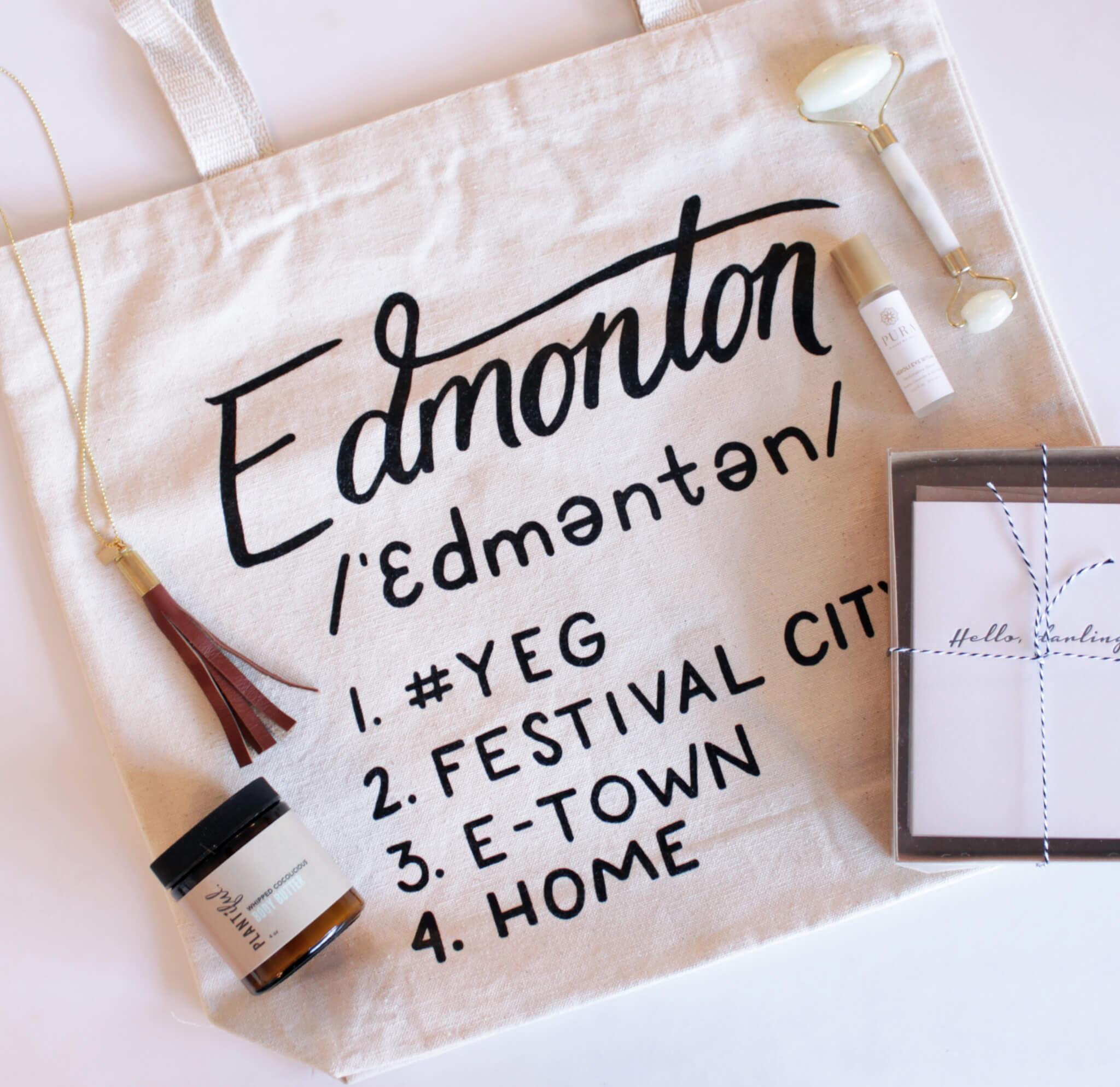 Plum Home Design Edmonton Tote Giveaway - LINDA HOANG | EDMONTON BLOG