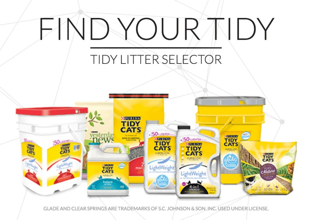 Which Tidy Cats is for you?