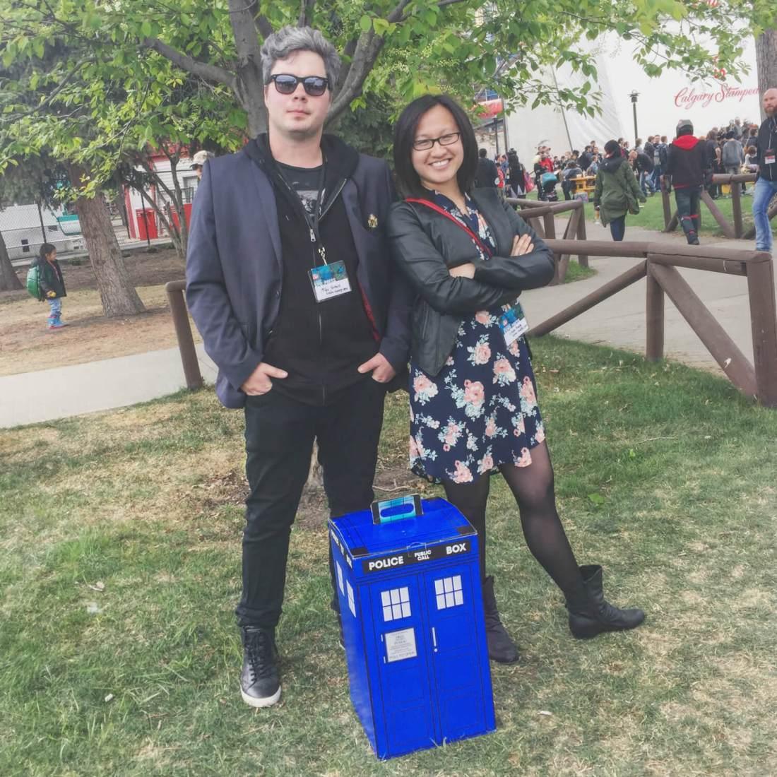 Doctor Who - Calgary Comic Entertainment Expo - Cosplay - Explore Alberta