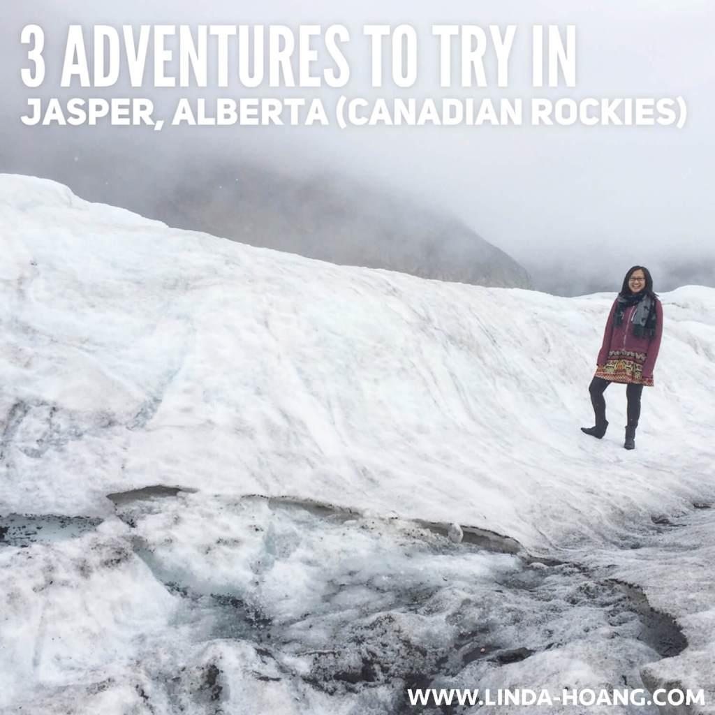 3 Adventures in Jasper Alberta