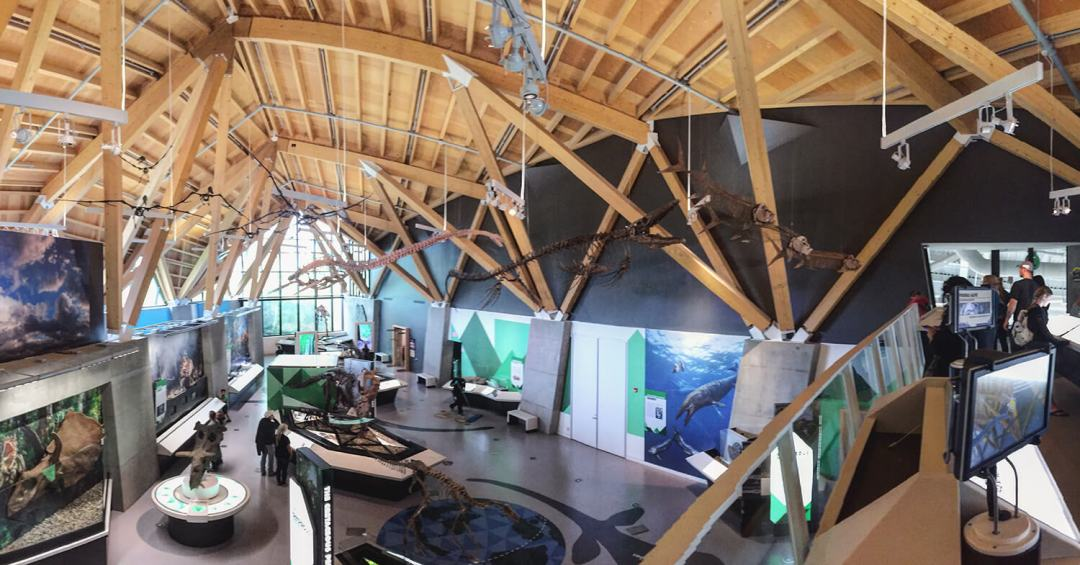 Philip J Currie Museum - Grande Prairie - Explore Alberta - Highway 43 - Travel - Dinosaur