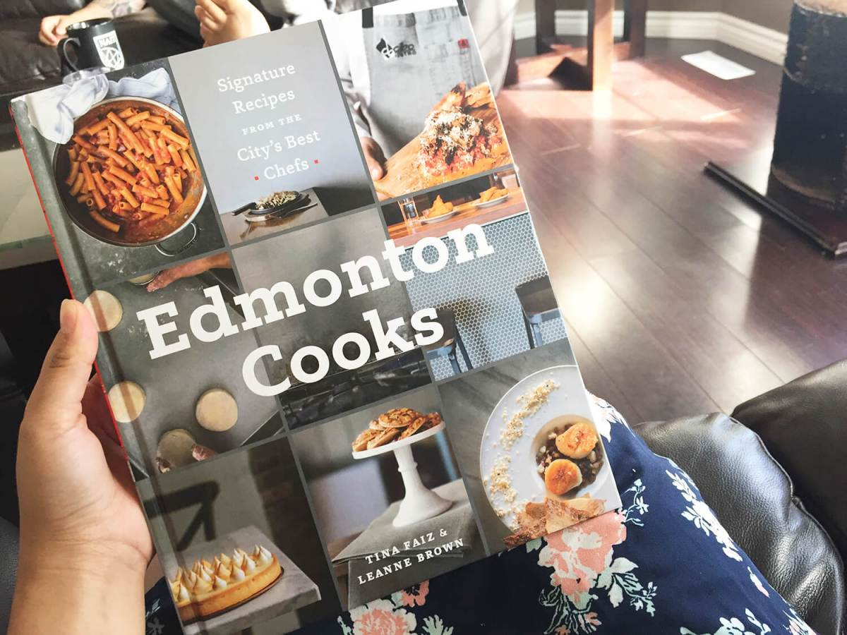 Cook Book Giveaway: Edmonton Cooks - Signature Dishes from the City's Best Chefs