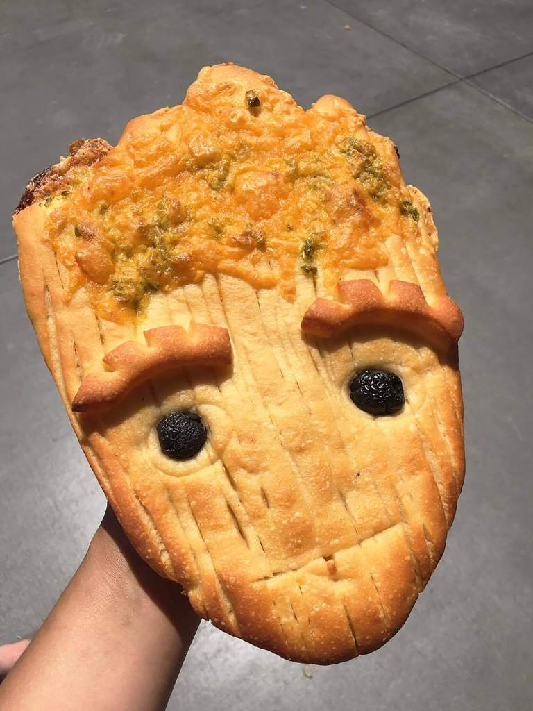 Groot Bread Guardians of the Galaxy California Adventure Summer of Heroes