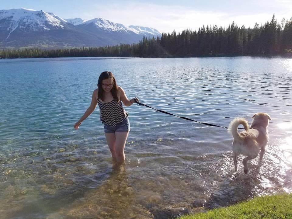 Fairmont JAsper Park Lodge Pets Lake Travel