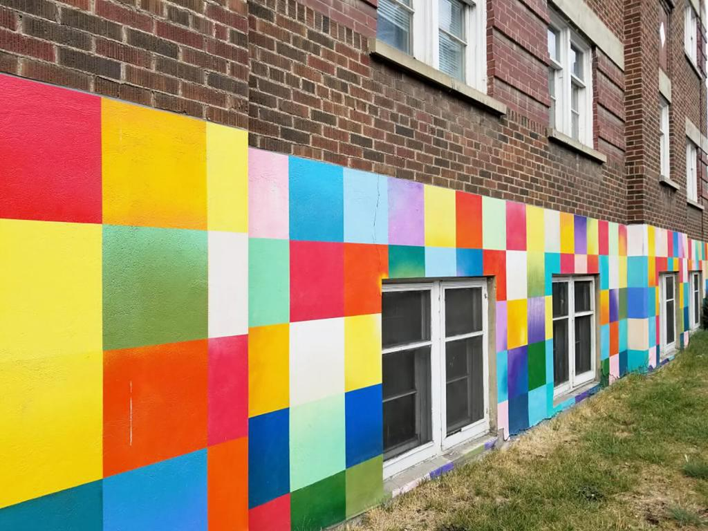 Instagrammable Walls of Calgary - James Wyper After the Flood