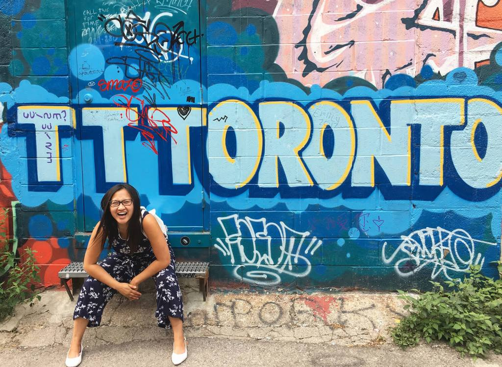 What To Do in Toronto - Graffiti Alley Street Art