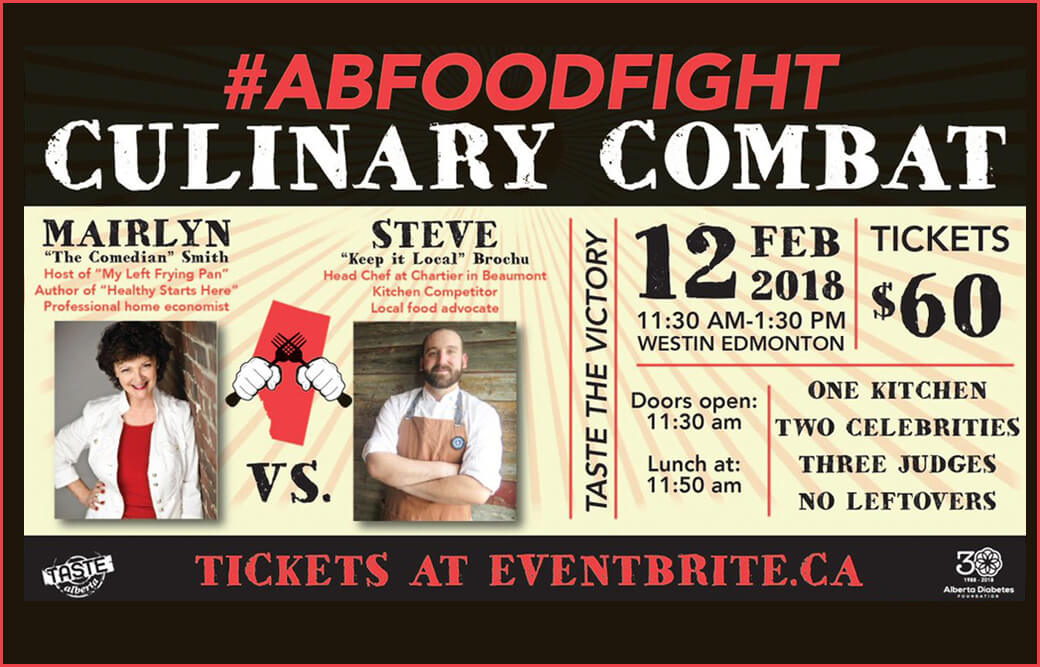 Alberta Food Fight for Alberta Diabetes Foundation