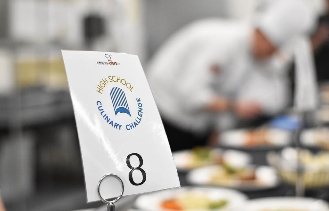 High School Culinary Challenge Edmonton Chefs