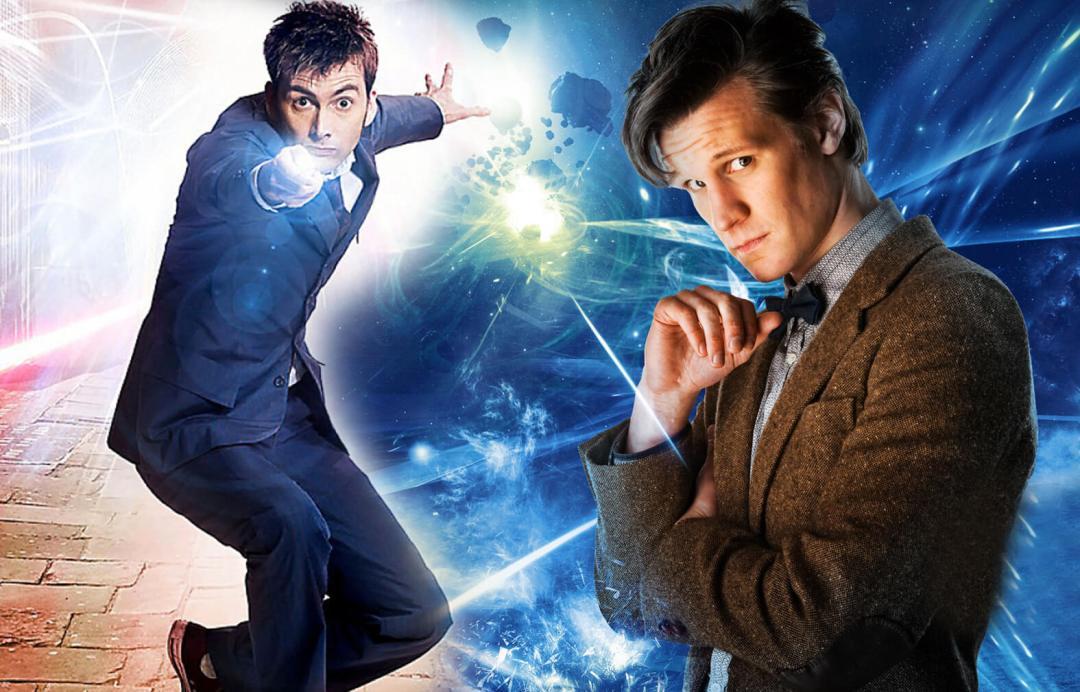 Doctor Who David Tennant Matt Smith Edmonton Expo