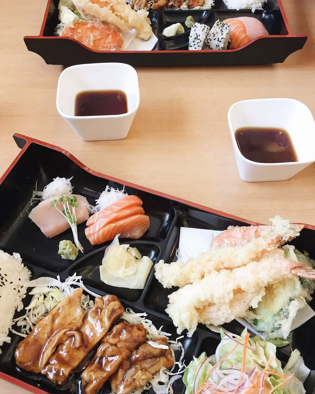 Mikado Japanese Restaurant Bento Box Edmonton
