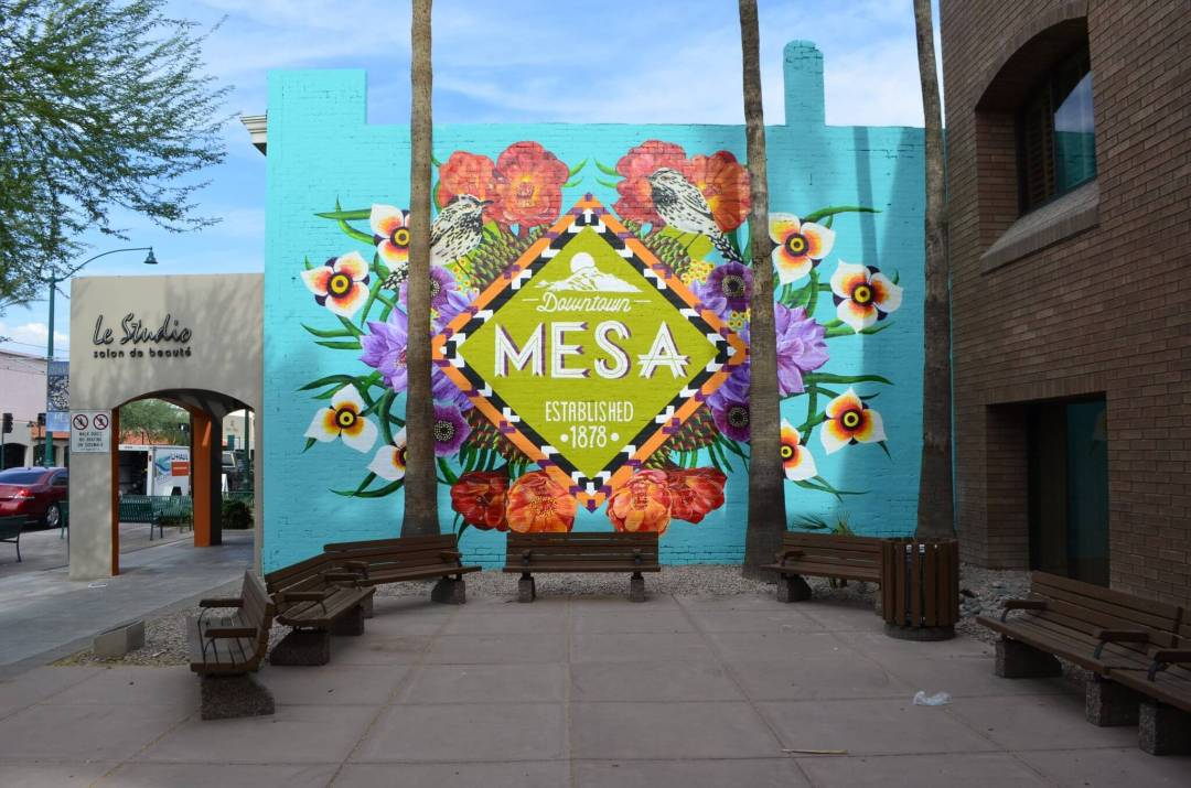 Guide to Instagrammable Walls of Mesa Arizona DOWNTOWN