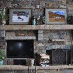 Christmas Fireplace Mantel Celebrating Style At Home Blog Entertain Decorate Garden