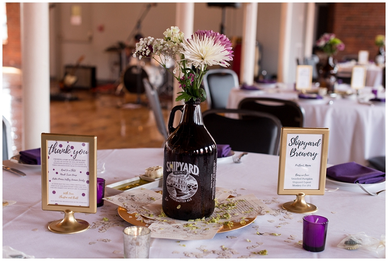 Mill 1 Brewery Themed Wedding Photos by Linda Barry Photography