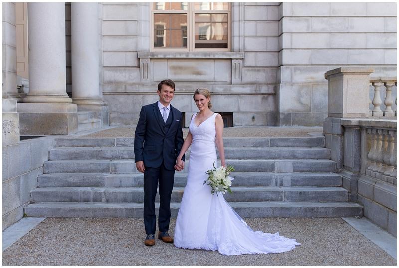 City Hall Wedding Photos by Linda Barry Photography