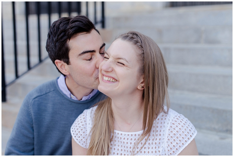 Old Port Engagement Photos by Linda Barry Photography. Click here to see more beautiful images from Jane and Noah's session!