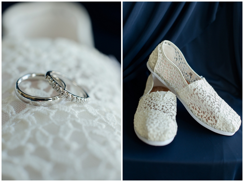 Melanie and Mike were married at Clay Hill Farm in Cape Neddick Maine. Click here to see more beautiful photos by Linda Barry Photography of their burgandy and navy wedding day! Toms wedding day shoes.