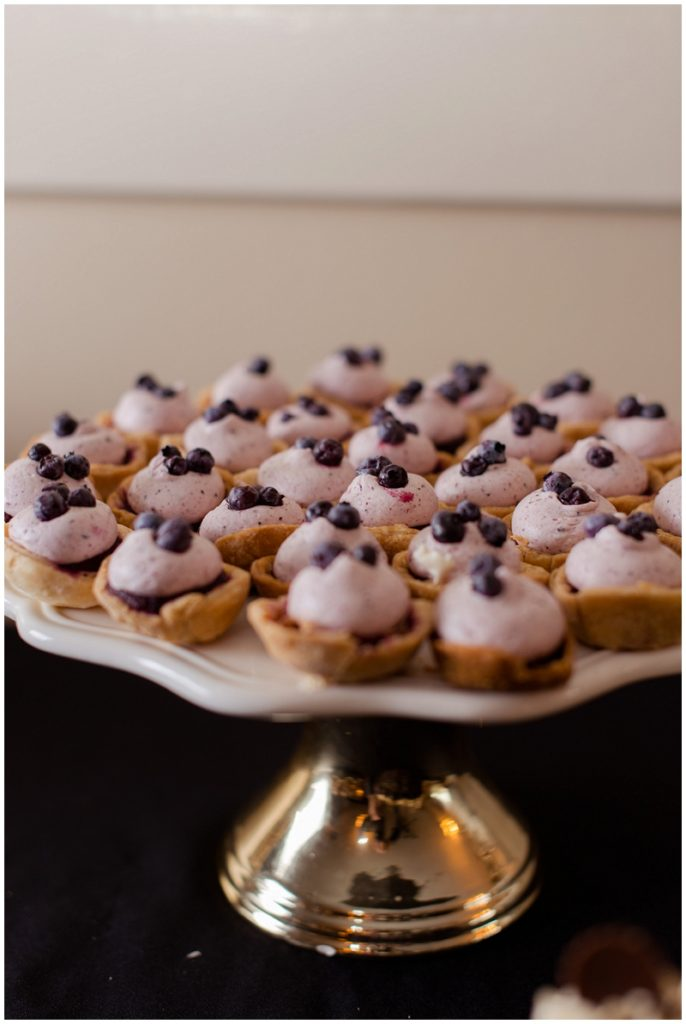 Melanie and Mike were married at Clay Hill Farm in Cape Neddick Maine. Click here to see more beautiful photos by Linda Barry Photography of their burgandy and navy wedding day! Wedding dessert buffet.