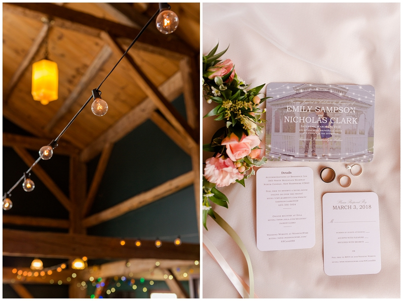 Emily and Nick were married at Stone Mountain Arts Center. Click here to see more wedding images by Linda Barry Photography. Flower crown and invitations.