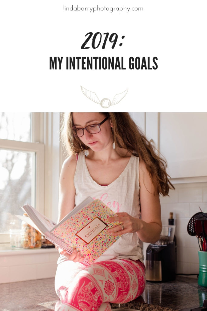 My intentional goals for 2019 that I created using the Powersheets Goal Planner!