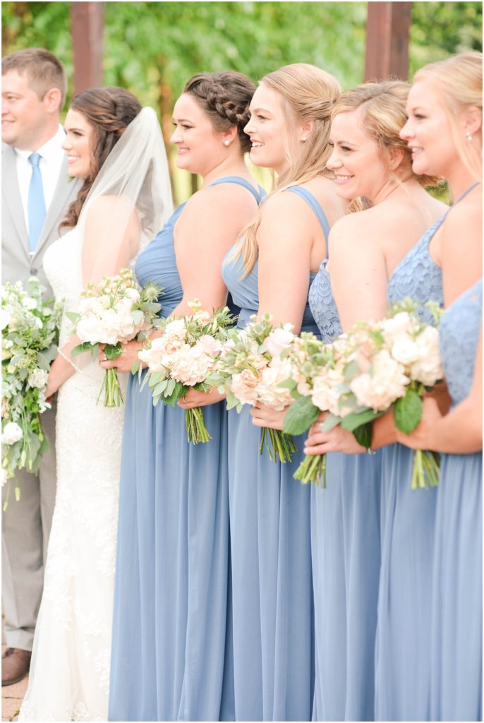 Beautiful bridal party at the Atkinson resort.