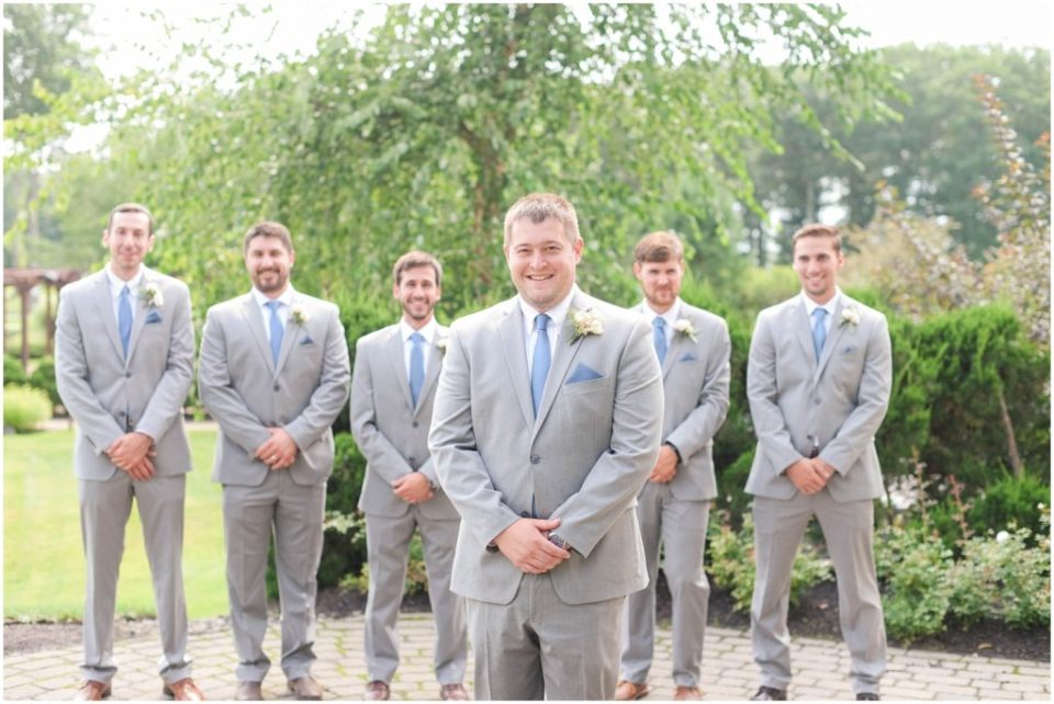 Groomsmen formal portraits.