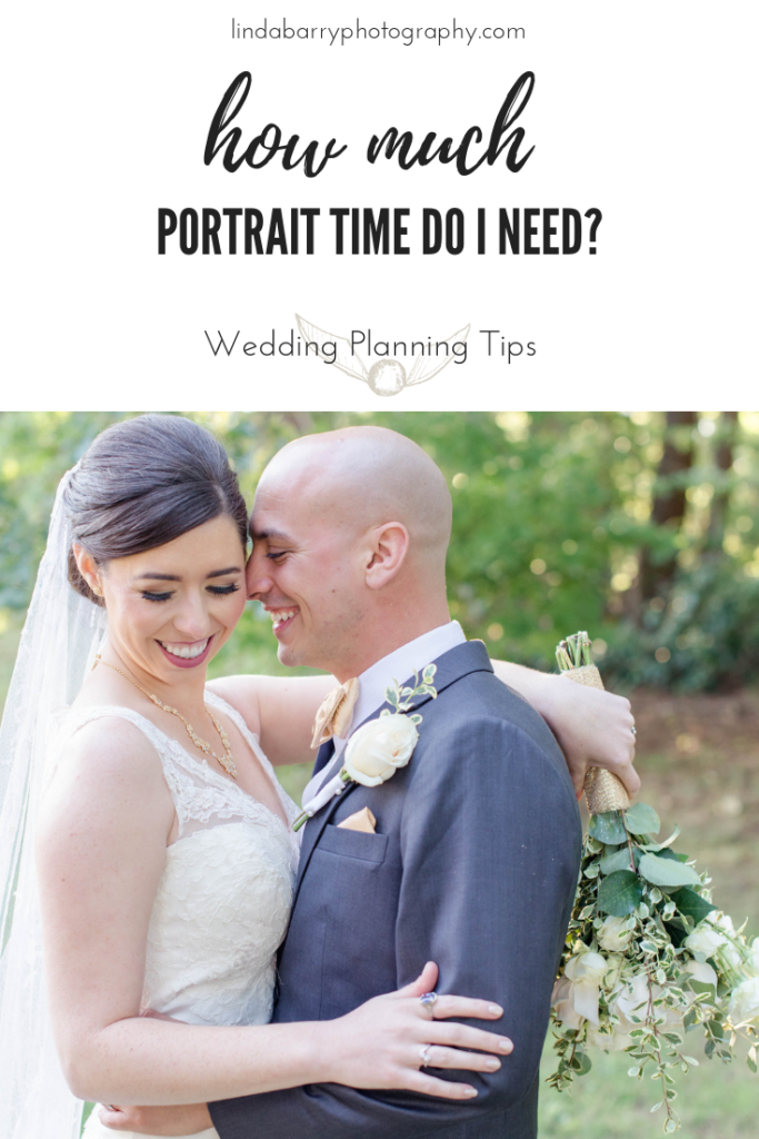 how much portrait time do I need on my wedding day? By Linda Barry Photography, a Boston wedding photographer