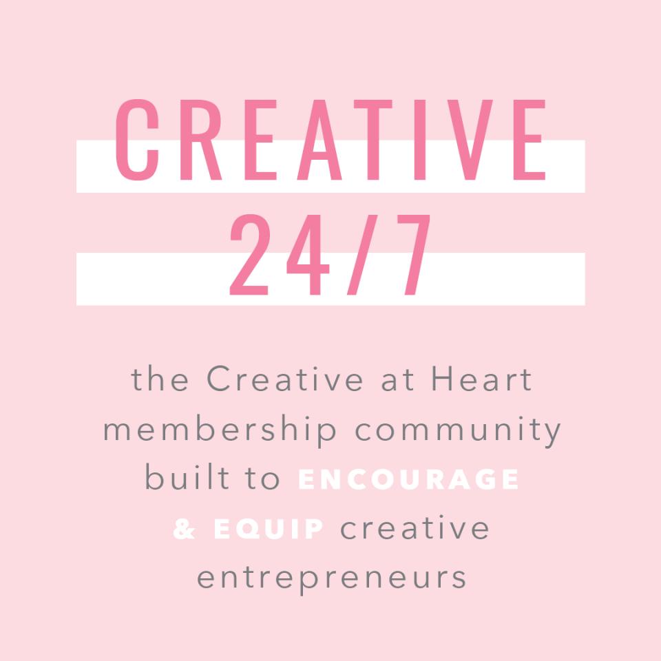Creative 24/7 mission statement.