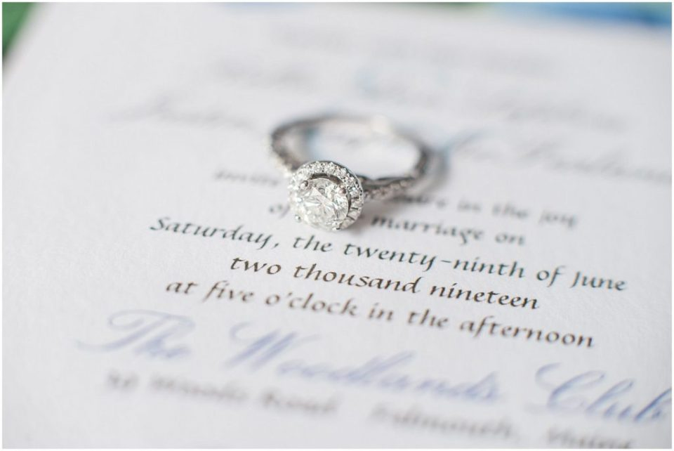beautiful bridal details with the invitation suite.