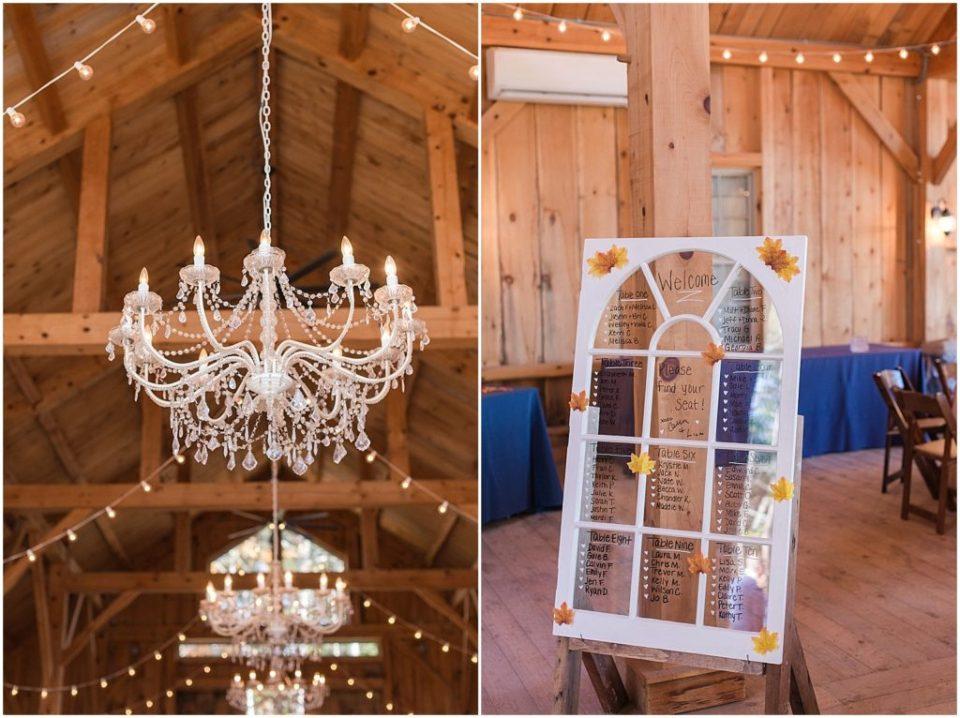 chandeliers at Granite Ridge Estate.