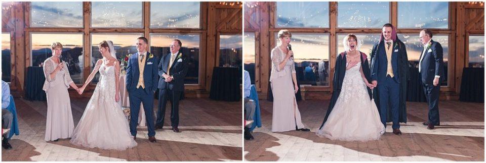 Caitlin and Liam's honeymoon reveal at Granite Ridge Estate!