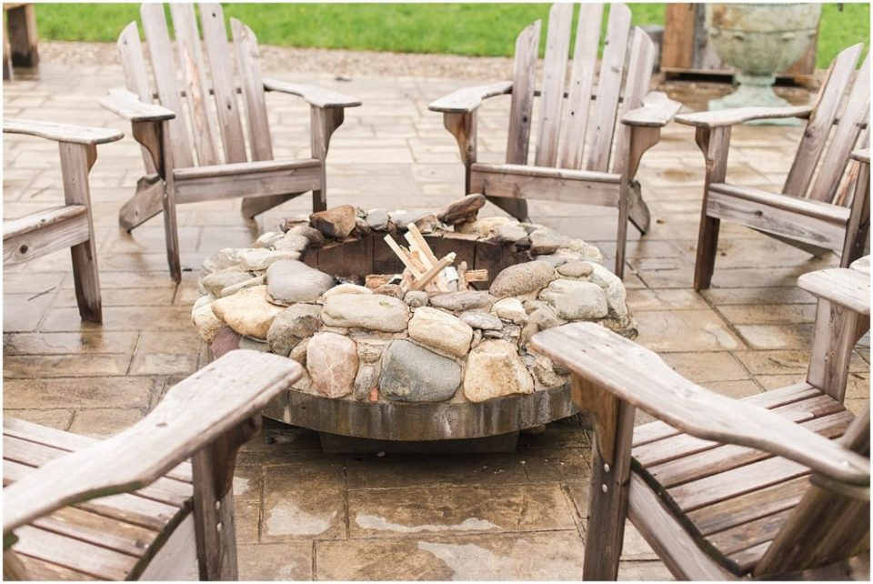 I love that all Valley View Farm weddings actually get to use these awesome fire pits!